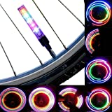 AOR Power Multicolor Bicycle Tire Valve Stem LED Cap Lights