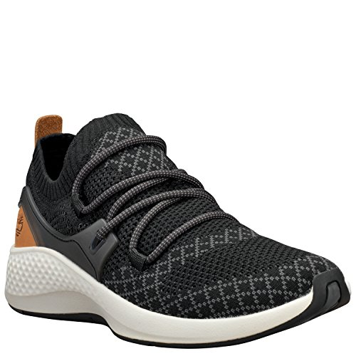 Timberland Womens FlyRoam Go Knit Chukka Black Sneaker - 10 by Timberland