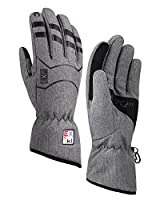 Fitself Winter Touchscreen Gloves Warm Waterproof Running Cold Weather Skiing Cycling Women Youth