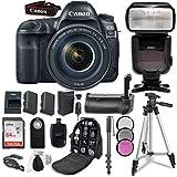 Canon EOS 5D Mark IV Digital SLR Camera Bundle with EF 24-105mm f/4L IS II USM Lens + Professional Accessory Bundle (14 items)