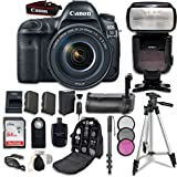 Canon EOS 5D Mark IV Digital SLR Camera Bundle with EF 24-105mm f/4L is II USM Lens + Professional Accessory Bundle (14 Items) For Sale
