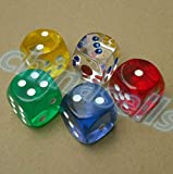 Funny and Romantic Role Playing Dice Luminous Dice Game Set of 6,Novelty Gift for Honeymoon bacherette Party,Him and Her, Bridal Shower, Groom Roast,Newlyweds, Wedding, Anniversary, Marriage
