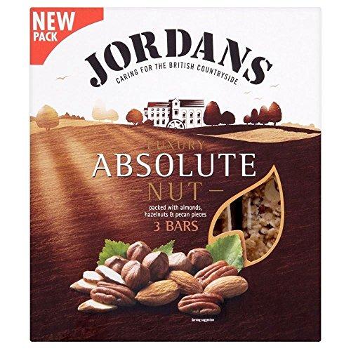 Jordans Absolute Nut Luxury Bars (3x45g) - Pack of (Jordan Sweet)