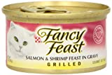 Fancy Feast Salmon & Shrimp Cat Food, 3 oz