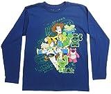 Disney-Pixar Toy Story 3 Boy's Organic Cotton Long Sleeve Tee Size: 14, Navy