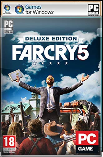 IGN PC Games: Action & Adventure F-A-R C-R-Y-5 Digital Download (No DVD/CD/No Online Multiplayer Mode).