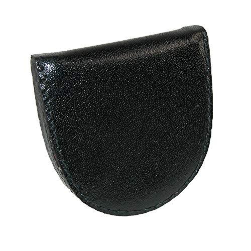 CTM Leather Change Holder, Black