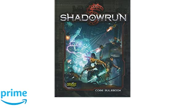 Catalyst Game Labs Shadowrun Fifth Edition Hardcover Core