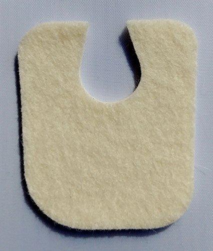 - Extra Thick U Shaped Callus Cushion, 100 Felt Pads