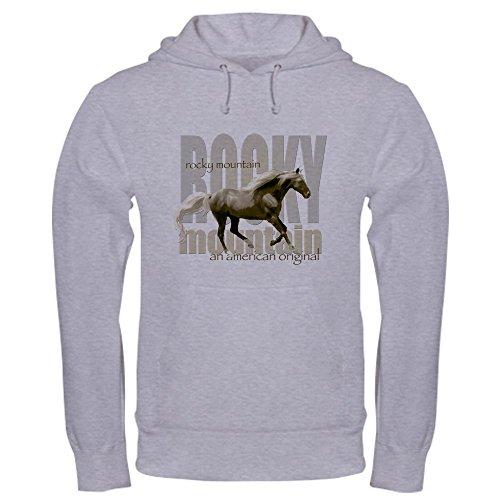 CafePress New Mountain Horse Design Hooded Sweatshirt - Pullover Hoodie, Classic & Comfortable Hooded Sweatshirt