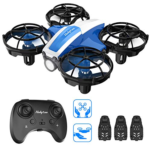 🥇 Holyton HS330 Hand Operated Mini Drone for Kids Beginners Adults -Remote Control Quadcopter with Altitude Hold