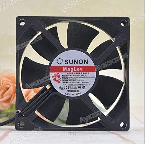 Ayazscmbs Compatible para Jianjun SUNON MA2082-HVL.GN 8025 220V 4.6W 8CM AC Ventilador Axial Ventilador