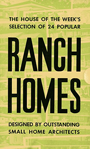 Ranch Homes: 1967 Your Home Booklets 24 Floor Plans digital restoration (Retro Relics in PR)