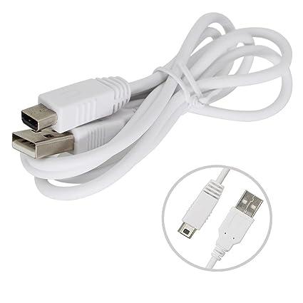 aiposen Cargador USB cable de carga para Nintendo Wii U ...