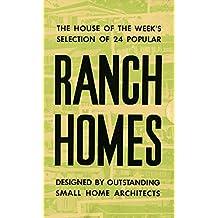Ranch Homes: 1967 Your Home Booklets 24 Floor Plans digital restoration (Retro Relics in PR)