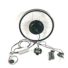 theebikemotor Waterproof 48V1000W Hub Motor Electric Bike Conversion Kit + LCD