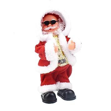 Fulltime E-Gadget Santa Claus elektrisches Spielzeug: Amazon.de ...