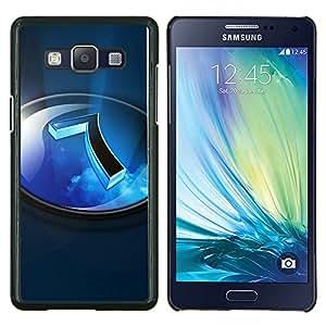 Queen Pattern - FOR Samsung Galaxy A5 A5000 A5009 - blue sky outside 7 - Cubierta del caso de impacto con el patr???¡¯???€????€?????n Art D