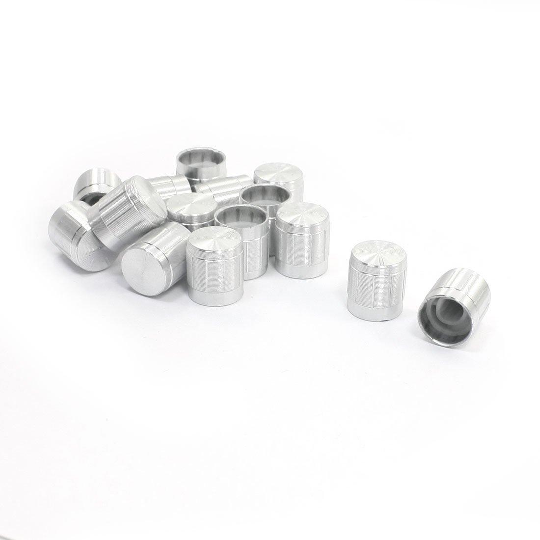 6mm Shaft Potentiometer Volume Control Cylinder Rotary Knob 15pcs