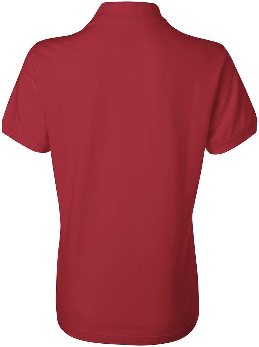 IZOD Womens Silk Wash Short Sleeve Pique Polo Shirt