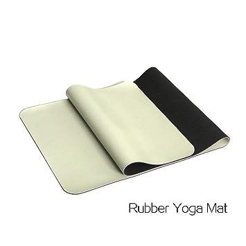 Mifusanahorn - Esterilla de Yoga de 4 mm respetuosa con el ...