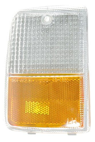 (Side Marker Parking Turn Signal Corner Light Lamp Left for 87-90 Chevy)