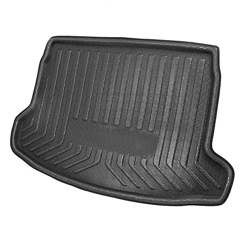 GZYF Rear Trunk Cargo Liner Floor Mat for NISSAN QASHQAI J11 2014-2018, Black
