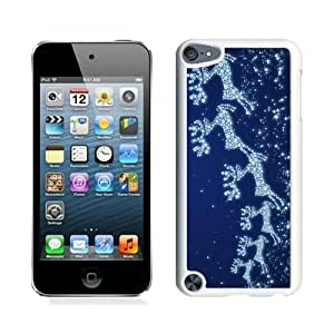 Hot Sell Design Snowflake Christmas deer White iPod Touch 5 Case 1