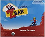 Clif Kid Z Bar, Organic Honey Graham, 7.62 oz, 6 ct