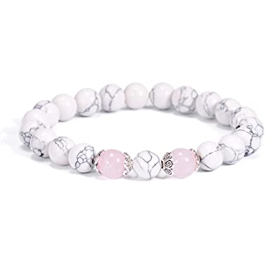 ee466d4eeae CIliik Ethnic Pink Flower Crystal Beaded Bracelets for Women New Friendship Jewelry  Charm Natural Stone Bangle