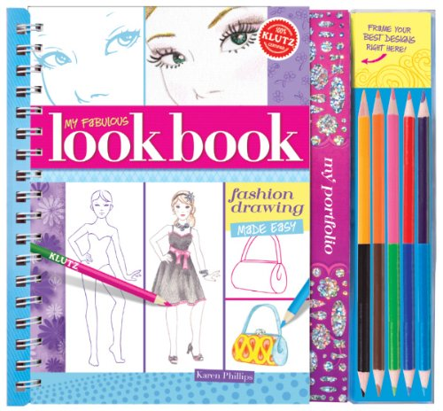 Klutz My Fabulous Look Book: Fashion Drawing Made Easy Book from Klutz