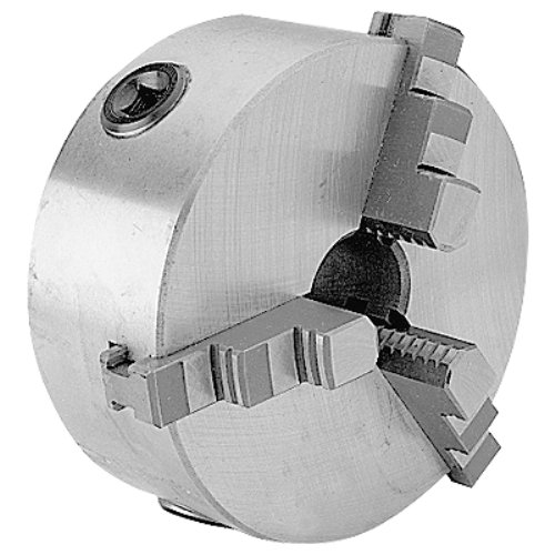 (HHIP 3900-0033 5 Inch 3-Jaw Lathe Chuck, Plain Back )
