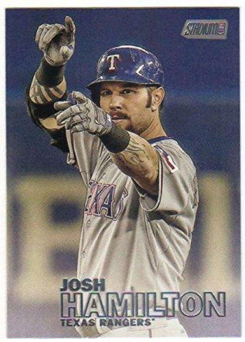 2016 Topps Stadium Club Baseball #206 Josh Hamilton Texas Rangers
