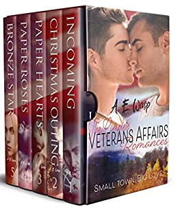 The Complete Veterans Affairs Romances: Gay Military Romances by [Wasp, A. E.]