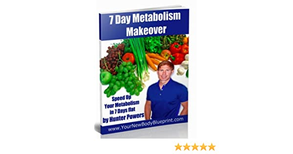 fat loss tips metabolism makeover burn belly fat in 7 day your new body blueprint book 2