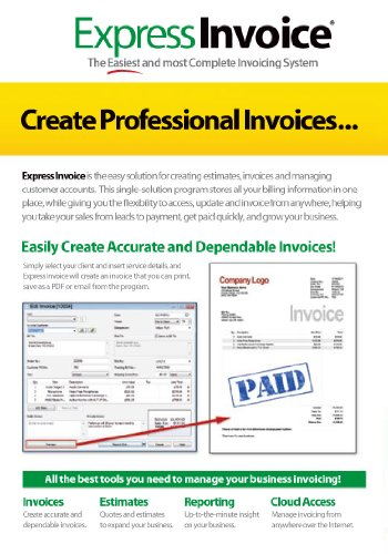 Online Receipt Book Word Amazoncom Express Invoice Professional Invoicing Software Pcmac Invoice Explanation with Paypal Invoice Charges Excel  Email Receipt Gmail Pdf