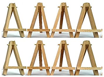 10pcs wood tabletop easels drawing boards easel for artwork display