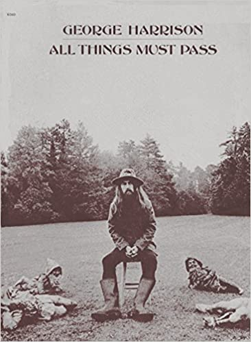 All Things Must Pass: One Book for Piano, Organ, Vocal & Guitar Sheet music – 1970