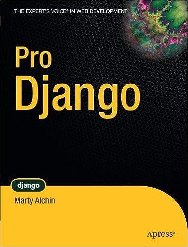 Book Pro Django (The Expert's Voice in Web Development) by Marty Alchin (2009-12-17)