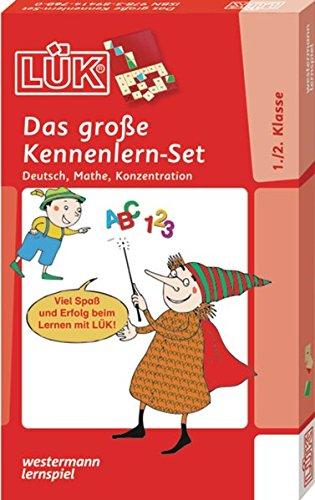 LÜK-Sets: LÜK-Set: Das große LÜK-Set für Einsteiger: Deutsch, Mathe, Konzentration für Klasse 1 und 2