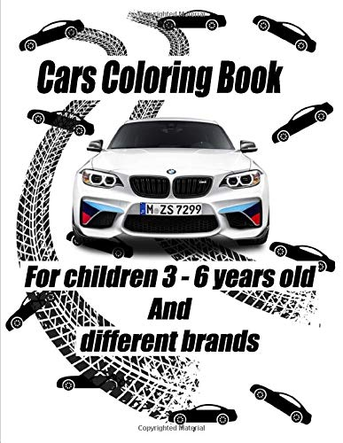 Cars Coloring Book For Children 3 6 Years Old And Different Brands Audi Bmw Lamborgini Mercedes Benz Nissan Dodge Publishing Rf 9798629661795 Amazon Com Books