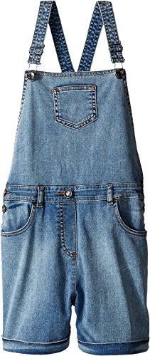 Dolce & Gabbana Kids Girl's Denim Coveralls in Light Blue (Big Kids) Light Blue 10 (Big Kids) by Dolce & Gabbana