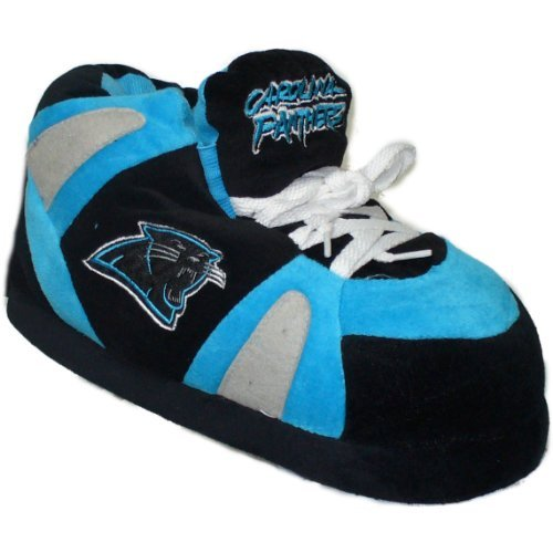 - Comfy Feet NFL Slipper Size: 6-7.5, NFL Team: Carolina Panthers