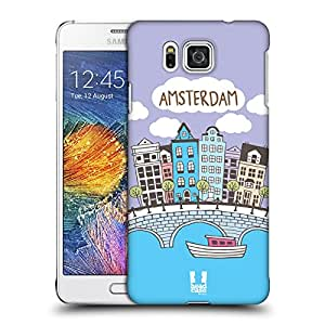 Head Case Designs Amsterdam Doodle Cities 4 Hard Back Case for Samsung Galaxy A7