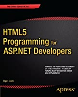 HTML5 Programming for ASP.NET Developers Front Cover