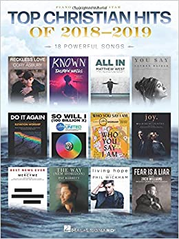 Top Christian Hits of 2018-2019 - Songbook: Various