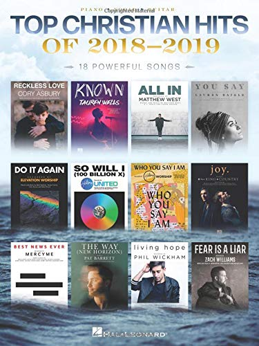 Top Christian Hits of 2018-2019: 18 Powerful Songs (Contemporary Christian Hits)