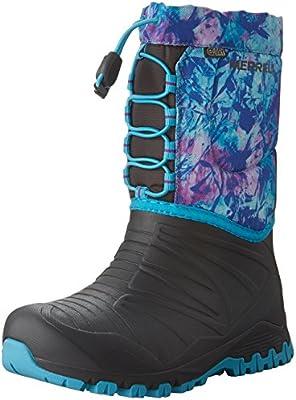 be799d8546 Merrell Snow Quest Lite Waterproof Big Kids MY55593: Amazon.com ...