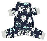 Cheap Yeti Paw Dog Flapjack Onsie Sweater by LazyOne | Adult Kid Infant Dog Family Matching Pajamas (Medium)