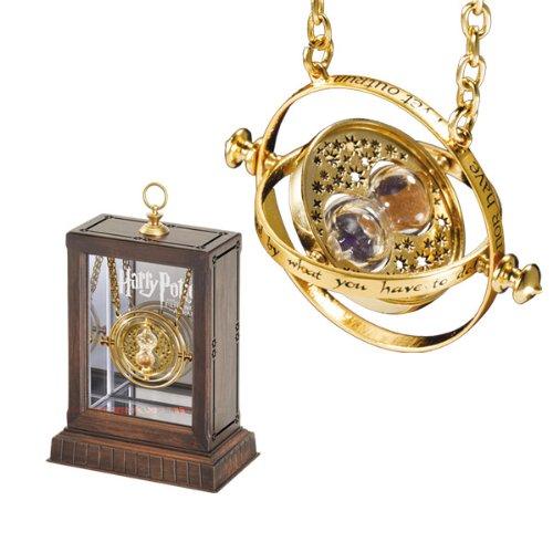 Harry Potter – 24 Karat Gold Plated Hermione Grangers Time Turner Necklace